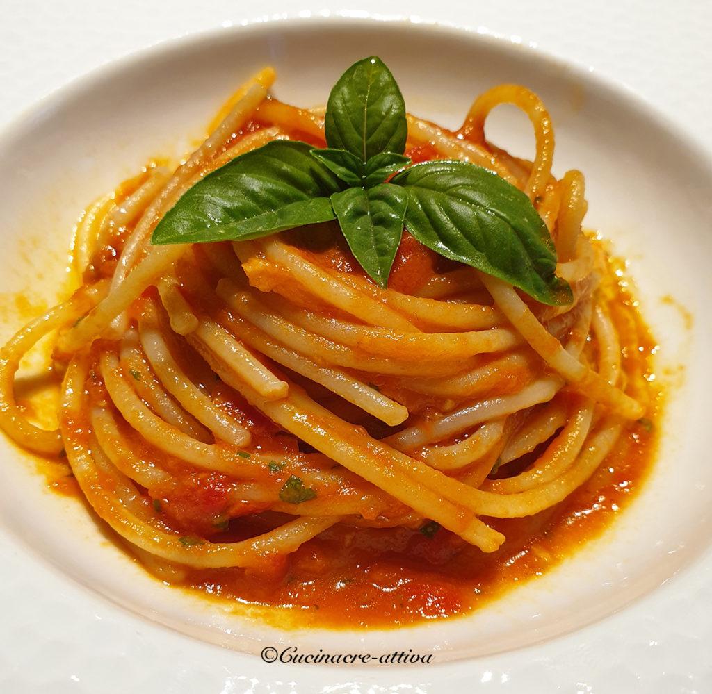 spaghetti al frullato